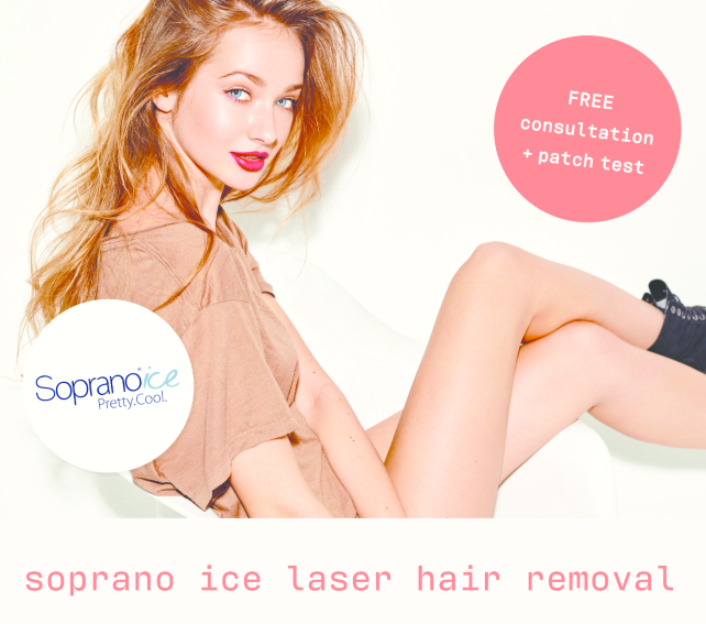 Soprano Ice Laser Hair Removal Treatment